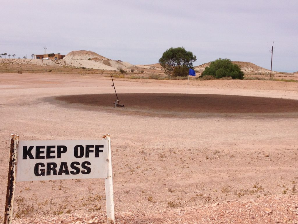 Coober Peady  in the Australian outback