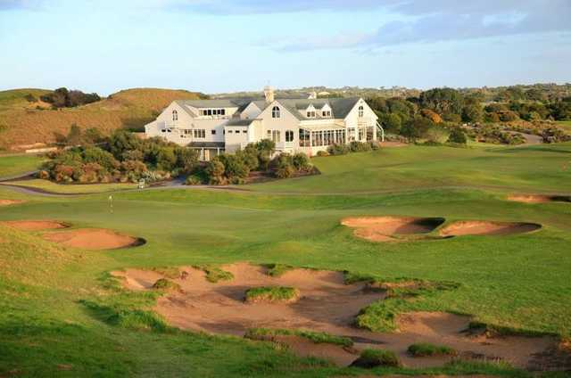 Barnbougle Dunes clubhouse