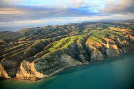 Cape Kidnapper's from the air